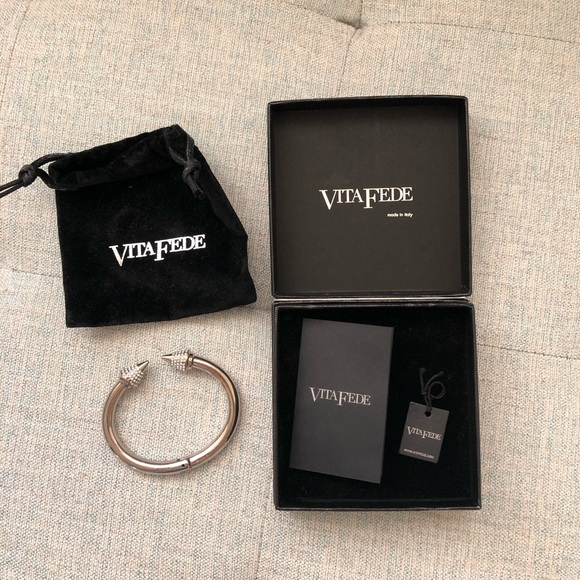 Vita Fede Jewelry - Vita Fede authentic silver crystal titan bracelet